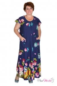 Платье Модель №464   ПлюсМода - женская одежда больших размеров   Интернет-магазин